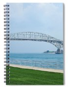 The Blue Water Bridge  Spiral Notebook