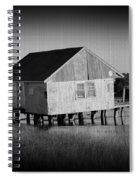 The Boathouse With Texture Spiral Notebook