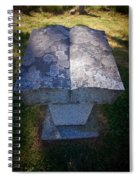 The Book Spiral Notebook