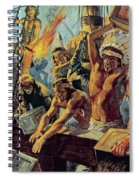 The Boston Tea Party Spiral Notebook