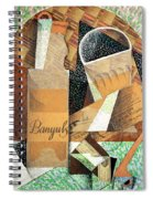 The Bottle Of Banyuls Spiral Notebook