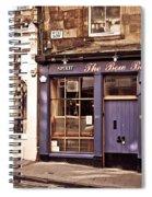 The Bow Bar. Edinburgh. Scotland Spiral Notebook