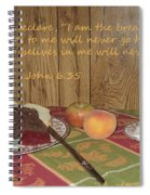 The Bread Of Life Spiral Notebook