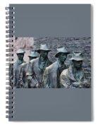 The Breadline Franklin Delano Roosevelt Memorial Spiral Notebook