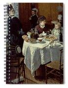 The Breakfast Spiral Notebook