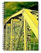 The Bridge To The Skies Spiral Notebook