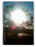 The Burning Tree Spiral Notebook