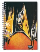 The Cabinet Of Dr Caligari Spiral Notebook