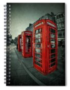 The Call Of Yesteryear Spiral Notebook