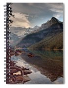 The Calm At Lake Louise Spiral Notebook