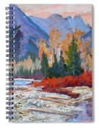 The Canadian Rockies Spiral Notebook
