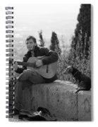 The Canine Troubadour Spiral Notebook