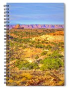 The Canyon In The Distance Spiral Notebook