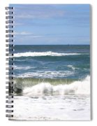 The Captivating Sea Spiral Notebook