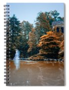 The Castle At Longwood Gardens Spiral Notebook