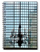 The Cathedral Chandelier  Spiral Notebook