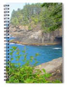 The Caves Of Cape Flattery  Spiral Notebook