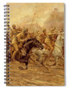 The Charge Of The Bengal Lancers At Neuve Chapelle Spiral Notebook