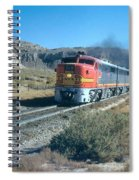 The Chief Train Spiral Notebook