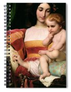 The Childhood Of Pico Della Mirandola Spiral Notebook