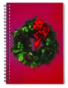 The Christmas Wreath Spiral Notebook