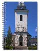 The Church Of Kuopio Spiral Notebook