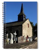The Church Of Sainte-onenne Spiral Notebook