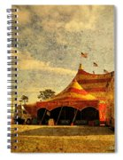 The Circus Is In Town Spiral Notebook
