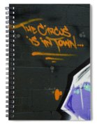 The Circus Spiral Notebook