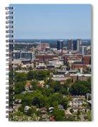 The City Of Birmingham Alabama Usa Vertical Spiral Notebook