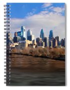 The City Of Brotherly Love Spiral Notebook