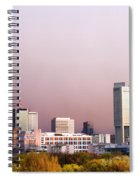 The City Of Warsaw Spiral Notebook