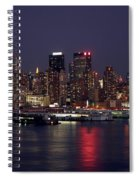 The City That Never Sleeps Spiral Notebook