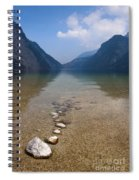 The Clear Waters Of King's Lake Spiral Notebook