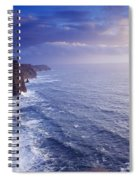 The Cliffs Of Moher, County Clare Spiral Notebook