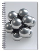The Closest Possible Packing Of Spheres Spiral Notebook