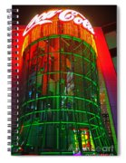 The Coca-cola Building Spiral Notebook