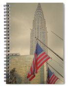 The Colors Flying In New York Spiral Notebook