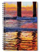 The Colours Of Dawn  Spiral Notebook