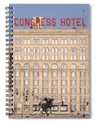 The Congress Hotel - 1 Spiral Notebook
