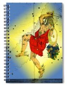 The Constellation Perseus Spiral Notebook
