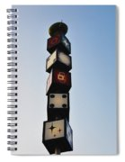 The Continental Diner Dice Spiral Notebook
