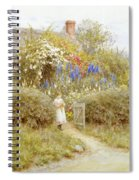 The Cottage Gate Spiral Notebook