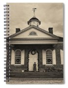 The Courthouse Spiral Notebook