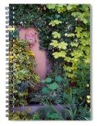 The Courtyard Garden, Fairfield Lodge Spiral Notebook