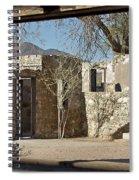 The Courtyard Spiral Notebook