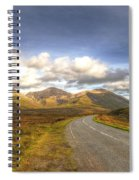 The Cuillin Mountains Of Skye Spiral Notebook