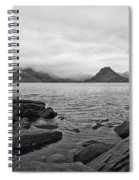 The Cuillin's In The Mist Spiral Notebook