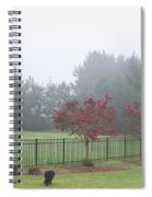 The Curious Dog Spiral Notebook