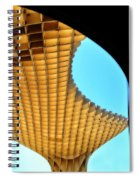 The Curves Of The Metropol Parasol Spiral Notebook